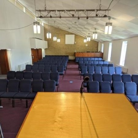 Church seating layout